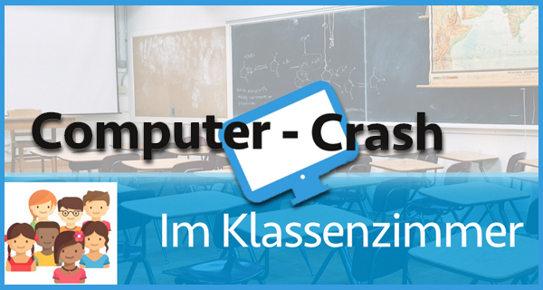 "Logo E-Learning Kurs ""Computer-Crash"""